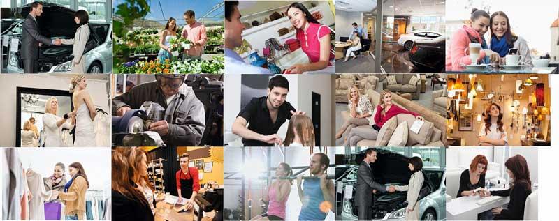 Branchen Titelbild für Laufkundschaft