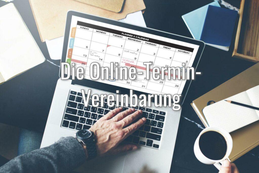 Hintergrundbild Online-Termin-Vereinbarung