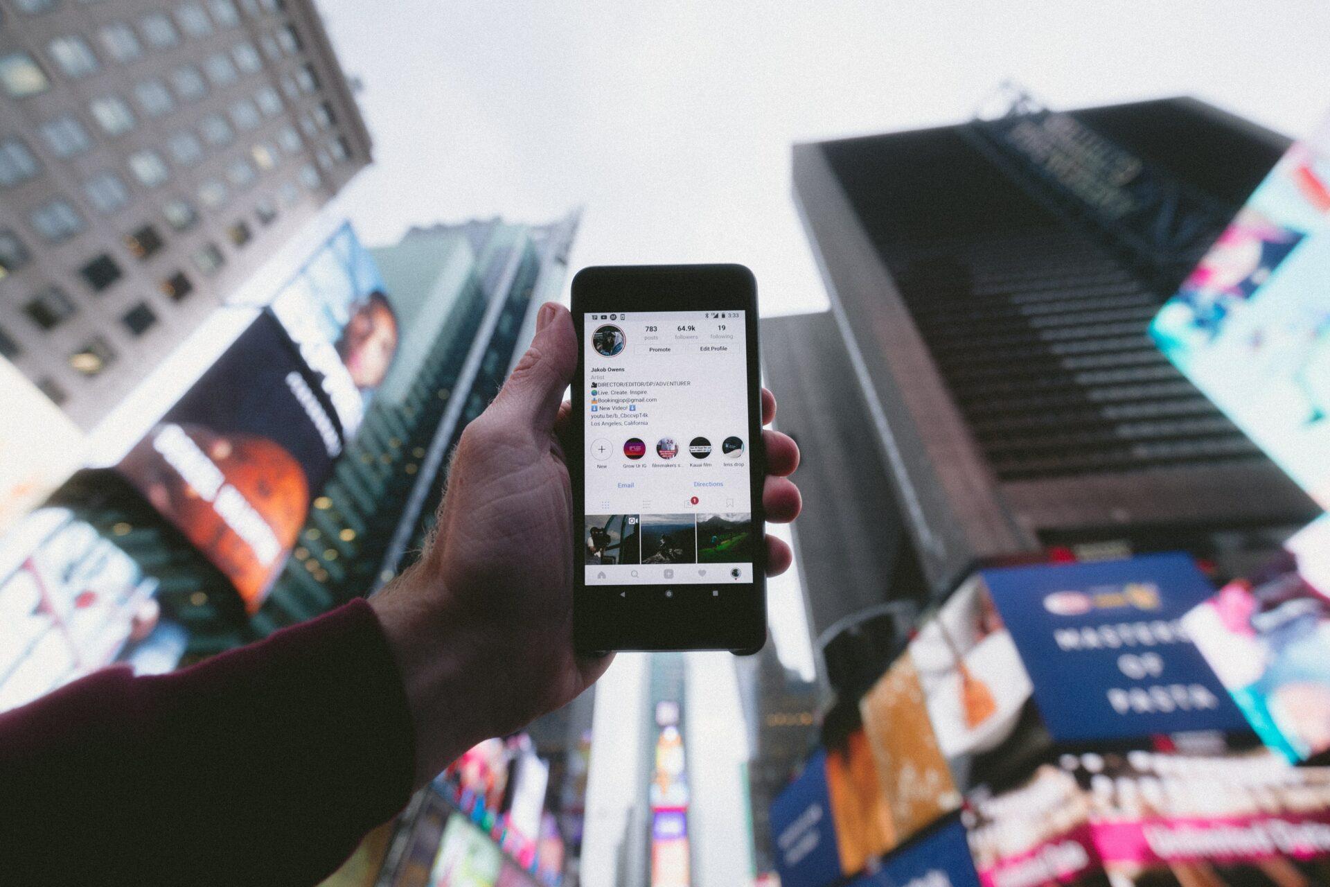 Instagram als strategisches Mittel zur Kundenakquise