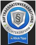 Klick-Tipp Auftragsverarbeitungs Siegel